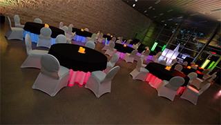 Corporate Table Lighting